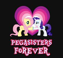 Pegasisters Forever 10 Womens Fitted T-Shirt