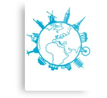 Cities of the World Metal Print