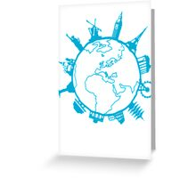 Cities of the World Greeting Card