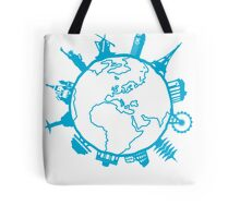 Cities of the World Tote Bag