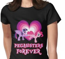 Pegasisters Forever 14 Womens Fitted T-Shirt