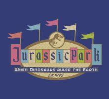 Jurassic Land by Mos Graphix