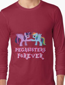 Pegasisters Forever (No Heart) 3 Long Sleeve T-Shirt