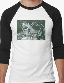 Microscope or Telescope Men's Baseball ¾ T-Shirt