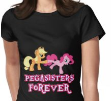 Pegasisters Forever (No Heart) 7 Womens Fitted T-Shirt