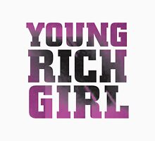 Young Rich Girl Womens Fitted T-Shirt