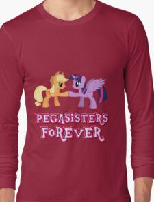 Pegasisters Forever (No Heart) 8 Long Sleeve T-Shirt