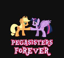 Pegasisters Forever (No Heart) 8 Womens Fitted T-Shirt