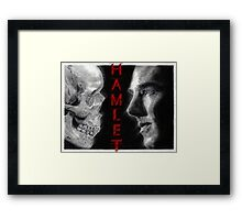 To be, or not to be... Hamlet Version II Framed Print
