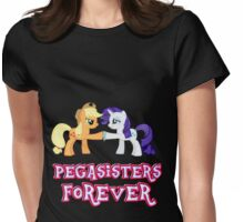 Pegasisters Forever (No Heart) 9 Womens Fitted T-Shirt