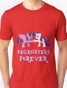 Pegasisters Forever (No Heart) 12 Unisex T-Shirt