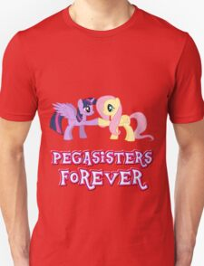 Pegasisters Forever (No Heart) 13 Unisex T-Shirt