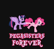 Pegasisters Forever (No Heart) 14 Womens Fitted T-Shirt