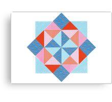 SQUARE TRIANGLE ARTWORK Canvas Print