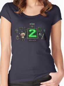 Mad Sciencebot Women's Fitted Scoop T-Shirt
