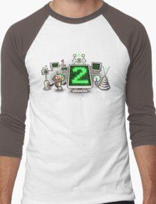 Mad Sciencebot Men's Baseball ¾ T-Shirt