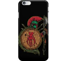 BOBA FETT SPARTAN iPhone Case/Skin