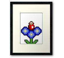potion plant pixel  Framed Print