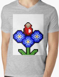 potion plant pixel  Mens V-Neck T-Shirt