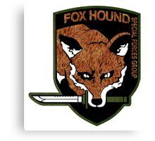 Fox Hound logo 2.0  Canvas Print