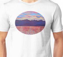 Sunset Over Vancouver Island Unisex T-Shirt