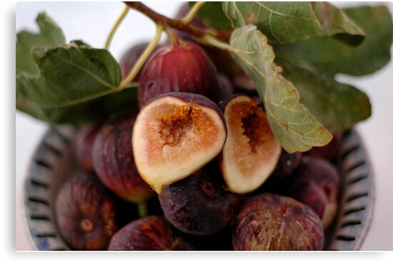 Figs In A Bowl by Elena Ray