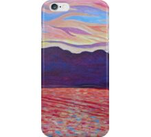 Sunset Over Vancouver Island iPhone Case/Skin