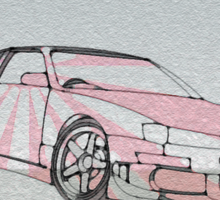 Drive Jap Sticker