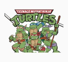 Teenage Mutant Ninja Turtles (Retro) by shawnpnpgh