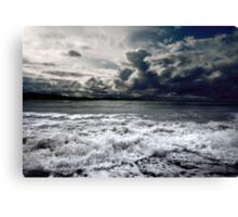 Storm seascape Canvas Print