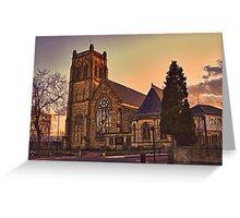 Jesmond Parish Church Greeting Card