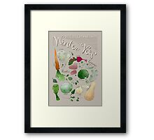 Winter Vegetables Framed Print