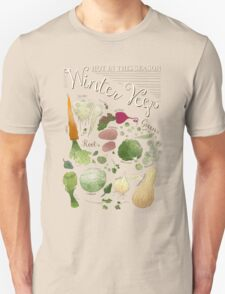 Winter Vegetables T-Shirt