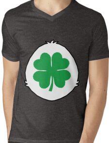 Luck Bear TShirt Mens V-Neck T-Shirt