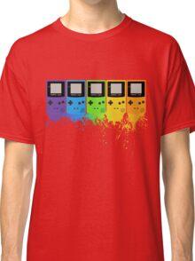 Gameboy Rainbow Tee Classic T-Shirt