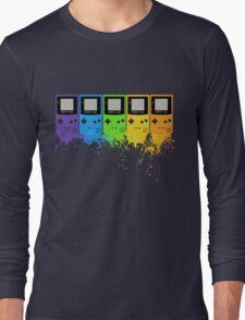 Gameboy Rainbow Tee Long Sleeve T-Shirt