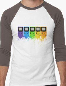 Gameboy Rainbow Tee Men's Baseball ¾ T-Shirt