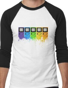 Gameboy Rainbow Tee Men's Baseball ¾ T-Shirt