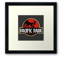Pacific Park Framed Print