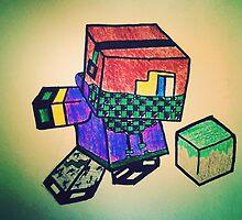 MineCraft KID by BeanieSmurf