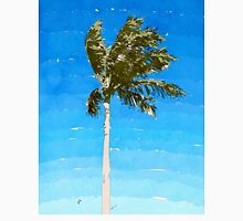 Palm Tree In Wind Unisex T-Shirt