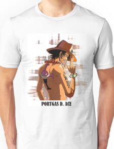 ONE PIECE - Portgas D. Ace T-SHIRT Unisex T-Shirt