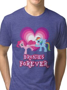 Bronies Forever 2 Tri-blend T-Shirt