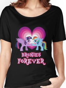 Bronies Forever 3 Women's Relaxed Fit T-Shirt