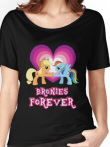 Bronies Forever 5 Women's Relaxed Fit T-Shirt