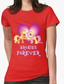 Bronies Forever 6 Womens Fitted T-Shirt