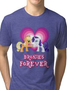 Bronies Forever 9 Tri-blend T-Shirt