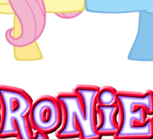Bronies Forever (No Heart) Sticker