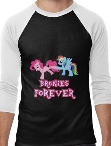 Bronies Forever (No Heart) 2 Men's Baseball ¾ T-Shirt