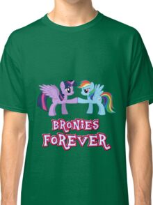 Bronies Forever (No Heart) 3 Classic T-Shirt